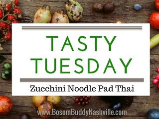 Tasty Tuesday: Zucchini Noodle Pad Thai
