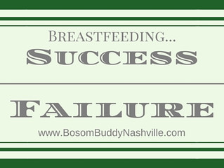Breastfeeding: Success/Failure?