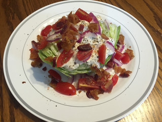 Tasty Tuesday: Wedge Salad with Blue Cheese Dressing