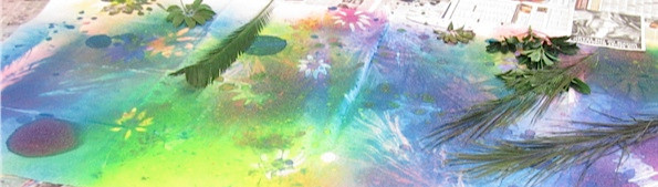 Nature & Art print making at Under The Canopy