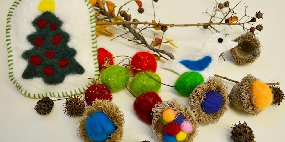 Twig and Felt Nature Craft Workshop Session 1