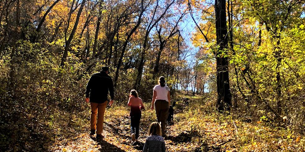 Fall Delights Hike at Tulsa Botanic Garden
