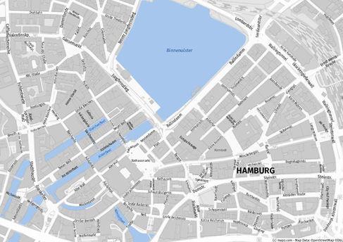 Stadtplan Hamburg WKL