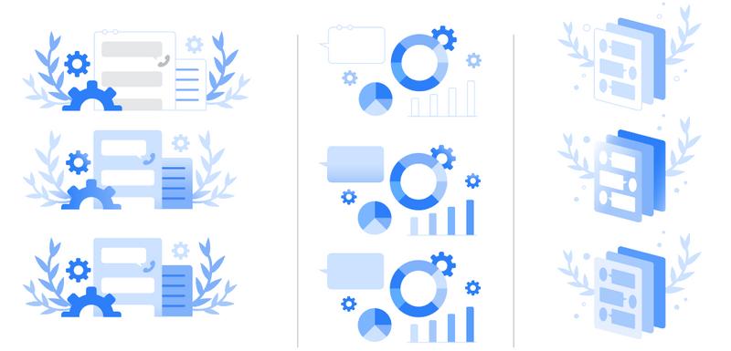 Google Communications Illustration