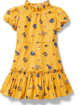 Yellow and Navy Floral