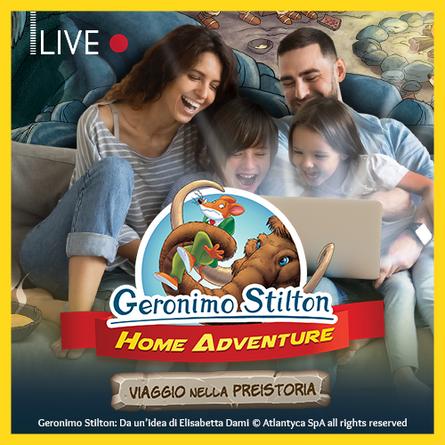 GERONIMO STILTON HOME ADVENTURE (B2C)