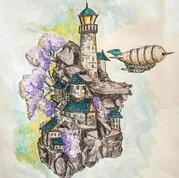 Floating Light House