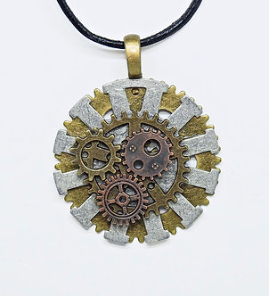 Gear Necklace #12