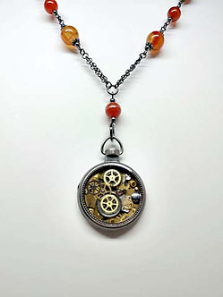 Agate Watch Pendant