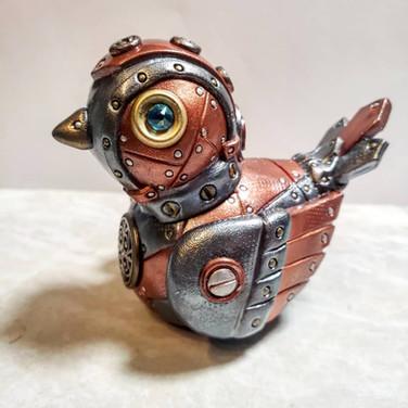 Steampunk Song Bird.