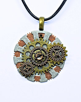 Gear Necklace #10