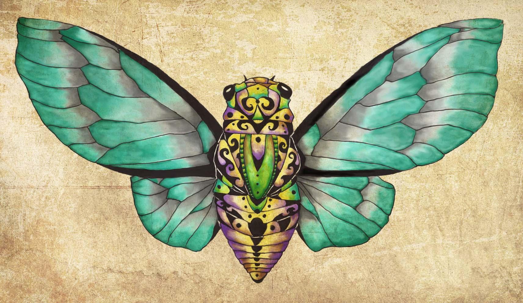 Cicada Dream Teal