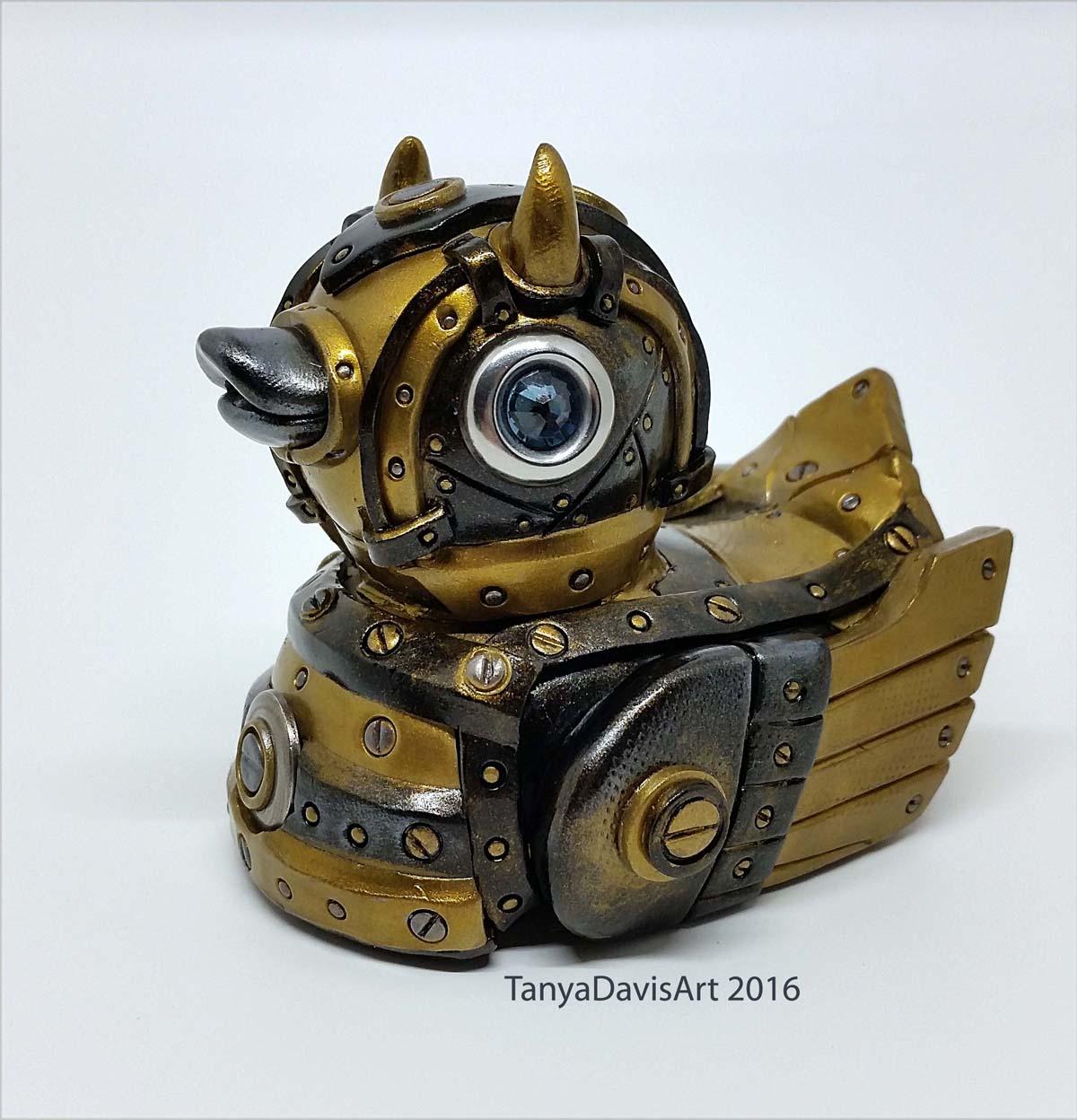 Gold Devil Duck