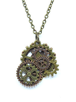 Gear Necklace #18