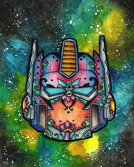 SugarSkull - Optimus Prime