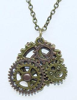 Gear Necklace #14