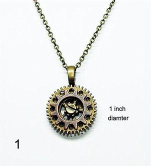 Gear Necklace #1