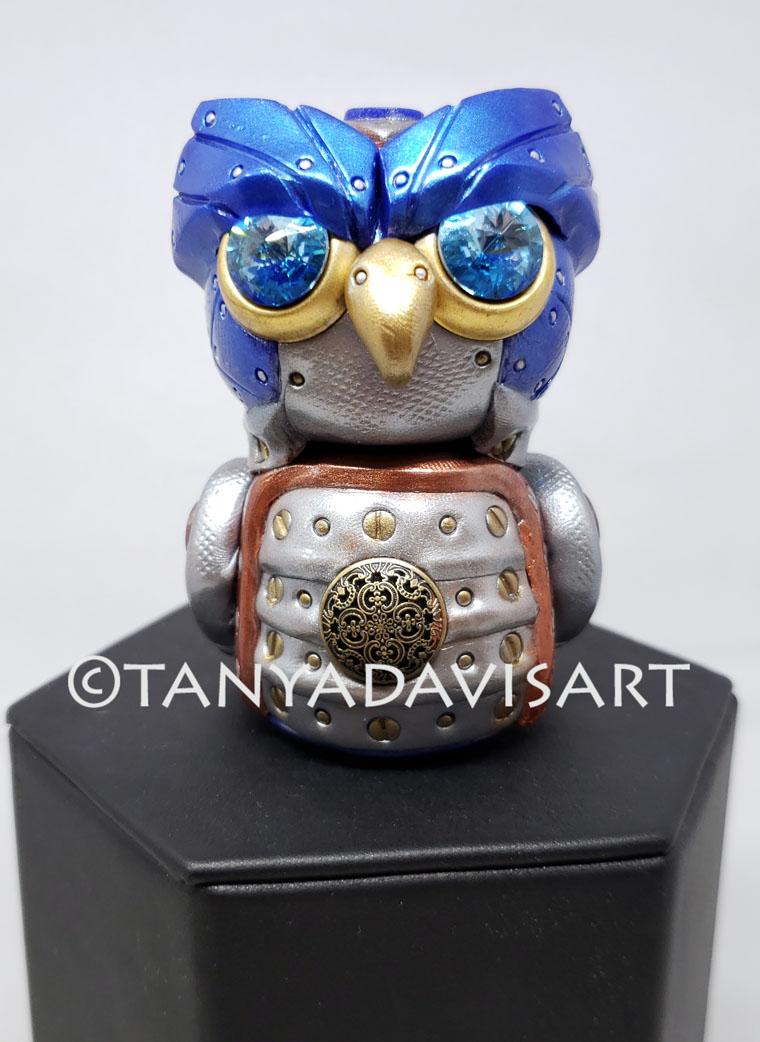 2018 steampunk owl