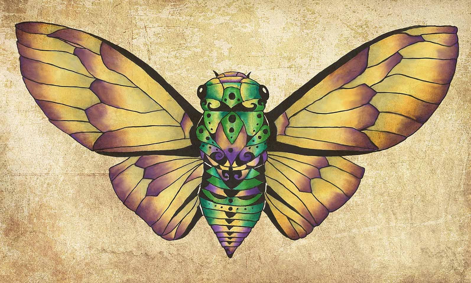 Cicada Dream - Violet