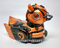 Orange Devil Duck