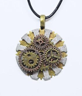 Gear Necklace #9
