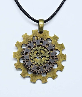 Gear Necklace #6