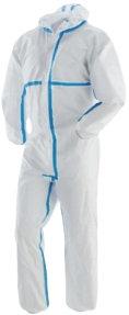 Προστατευτική όλοσωμη φόρμα τύπου Tyvek