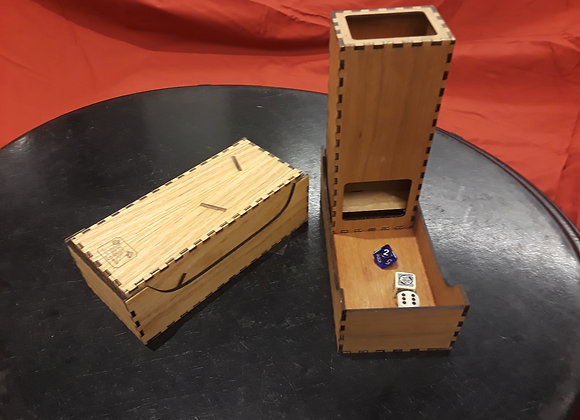Gamer Edition: Dice Vault and Tower