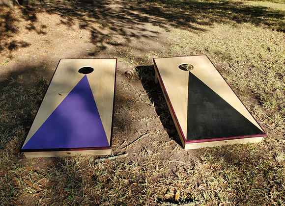 Corn Hole Set with bean bags (includes carrying case)
