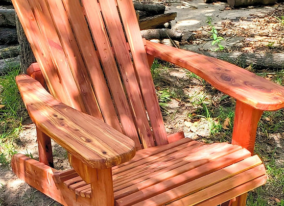 Single Cedar Adirondack Chair