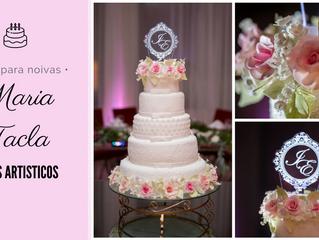 Dicas para noivas: Maria Tacla Bolos Artísticos