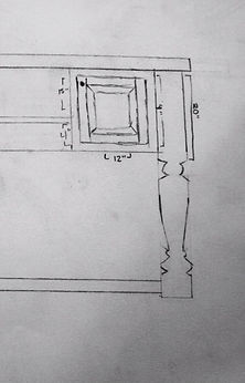 Woodworkings design sketch