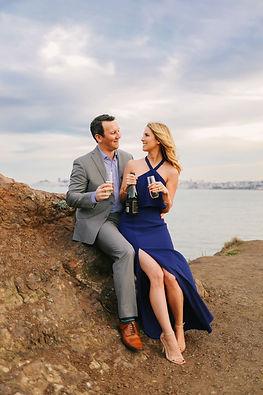 San Franscisco Unique Engagement Shoot