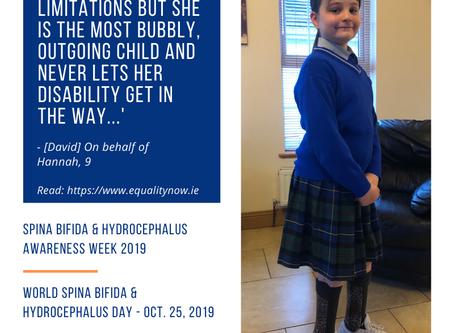 Awareness Week 2019: Hannah