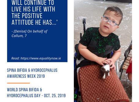 Awareness Week 2019: Callum