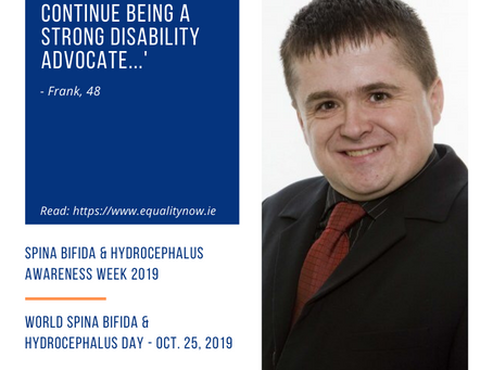 Awareness Week 2019: Frank