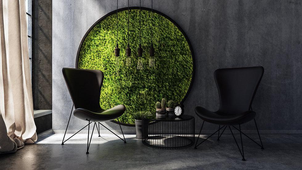 Circle of Moss Life