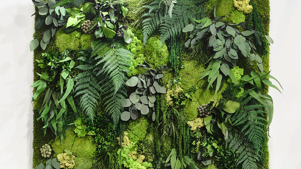 Leafy Forest Moss Frame