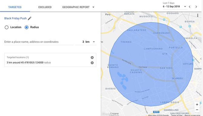 Geo-loaction targeting image taken from Google Ads
