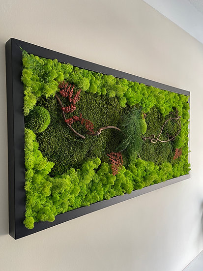 Classic Forest Moss Frame