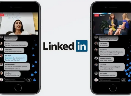 'LinkedIn Live' Video Broadcasting