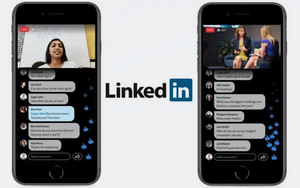 LinkedIn Live Mobile Image