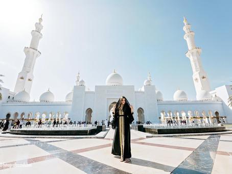 Grande Mesquita de Abu Dhabi : Sheikh Zayed Grand Mosque