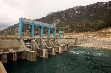 Hugh Keenleyside Dam Castlegar Facility