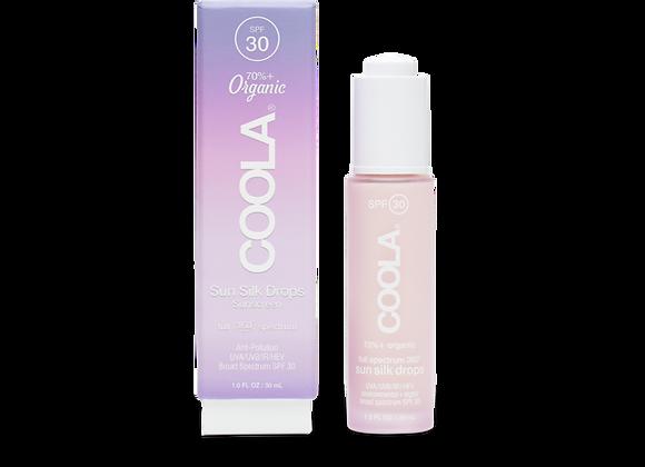 Crème Solaire Bio Gouttes de Soie à Spectre Complet 360° FPS 30