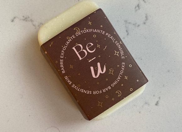 Barre exfoliante detoxifiante peau sensible