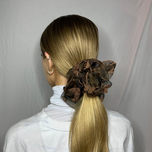 Scrunchie «Autumn leaves»