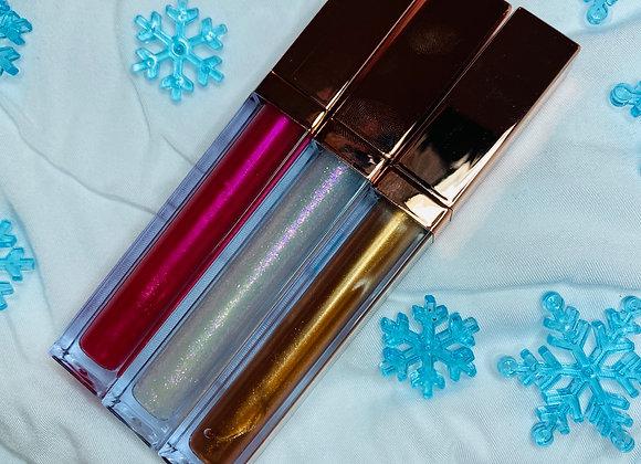 Christmas lipgloss