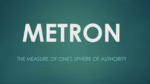 Function In Your Metron