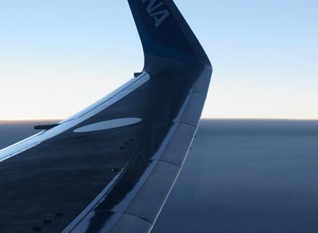 Winglet Boeing 767-300ER /  中国線のチケット